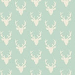 Art Gallery Tiny Buck Forest Cotton mint
