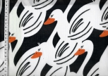 Swafing Swans by Cherry Picking Black and White