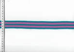 Fashion Stripe retro blau/pink