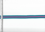 Fashion Stripe retro blau/pink 10mm